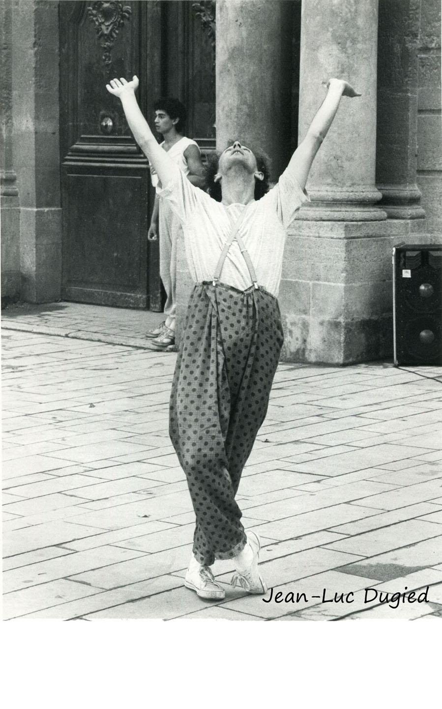 1 Boivin Dominique - lecture démonstration à Aix - 1985