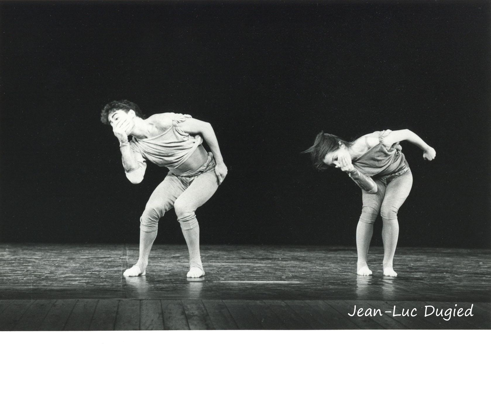 12 Jeune Ballet de France 2 - à trois mètres de la foule - chor. Bouvier-Obadia - Cédric Pannet et Agnès Peyremorte - 1984