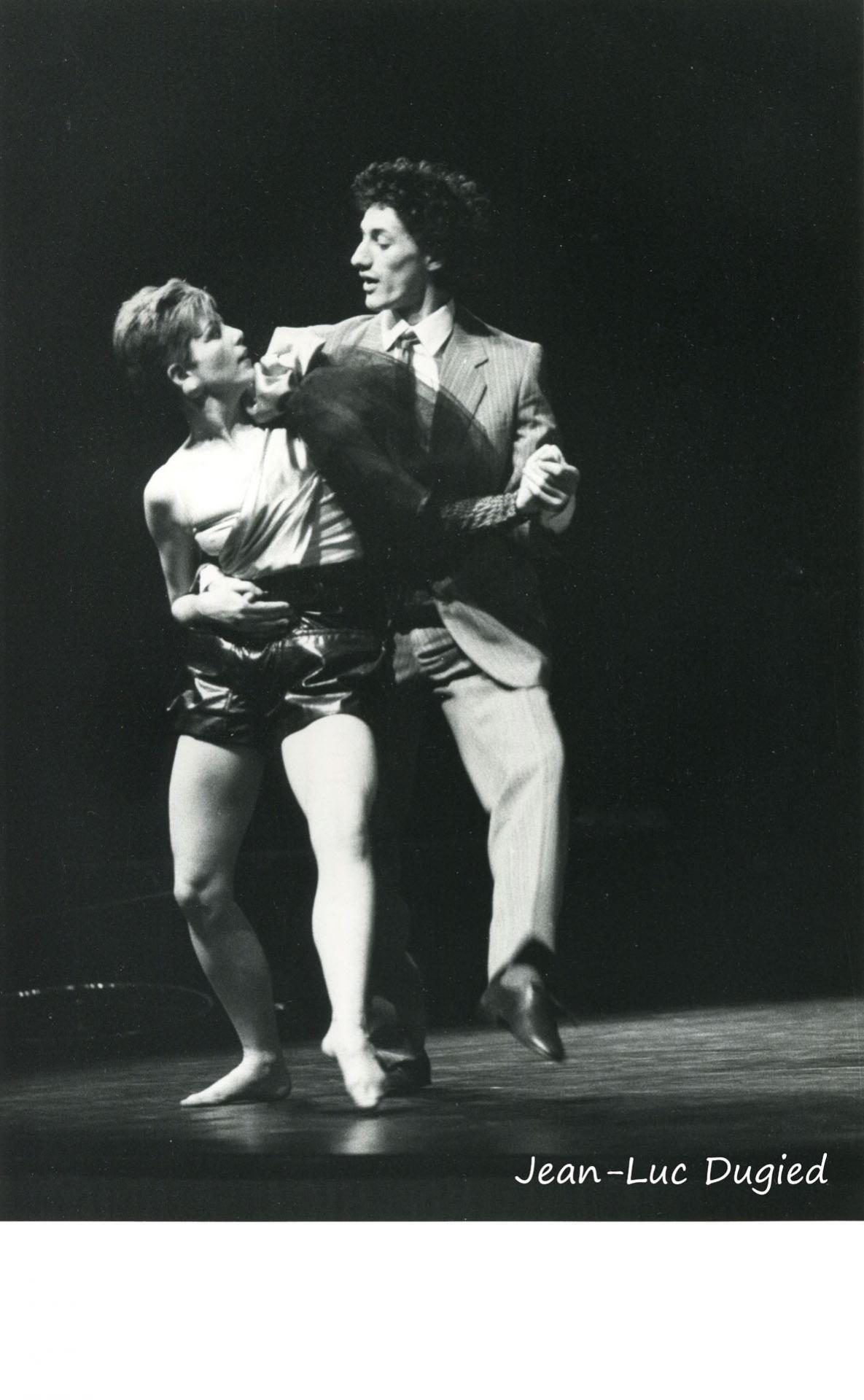 12 Roger Patrick - grand braquet - avec Véronique Bauer - 1985