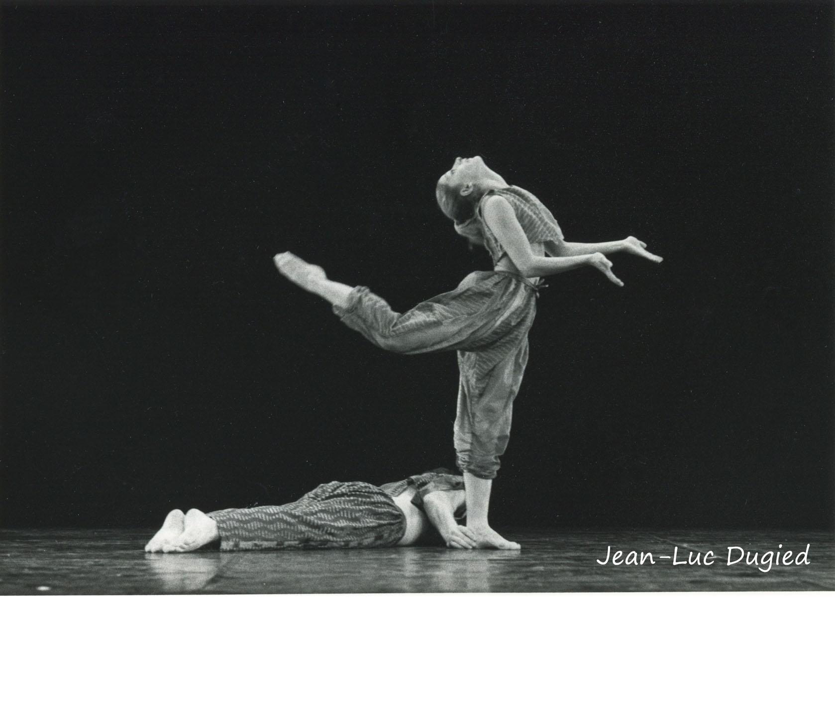 13 Jeune Ballet de France 2 - le sirli de bejaia - chor. Claude Brumachon  - Philippe Probst et Rachel Fabre - 1984