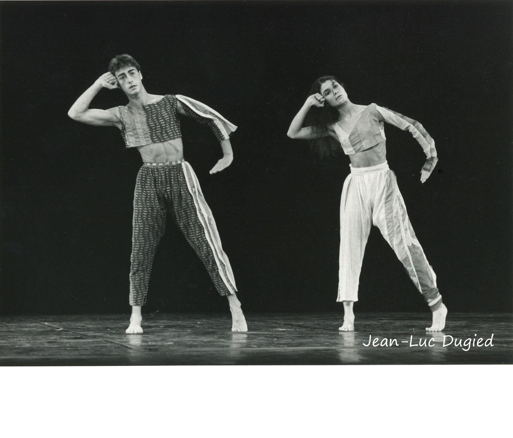 14 Jeune Ballet de France 2 - le sirli de bejaia - chor. Claude Brumachon - Cédric Pannet et Christine Cloux - 1984