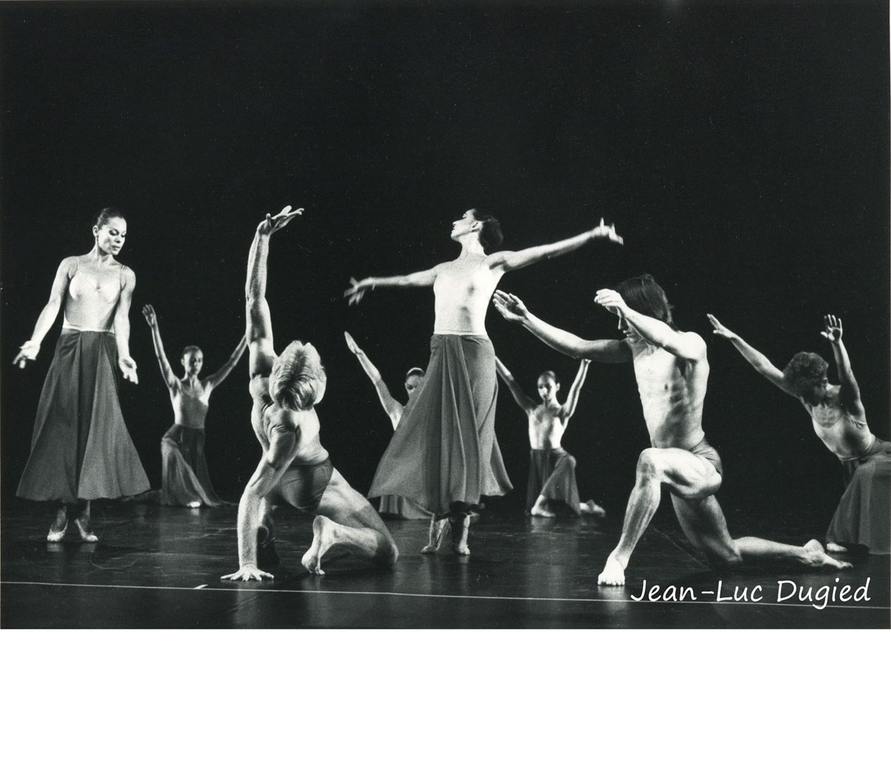 18 Batsheva dance cie - Suite en bleu - 1986