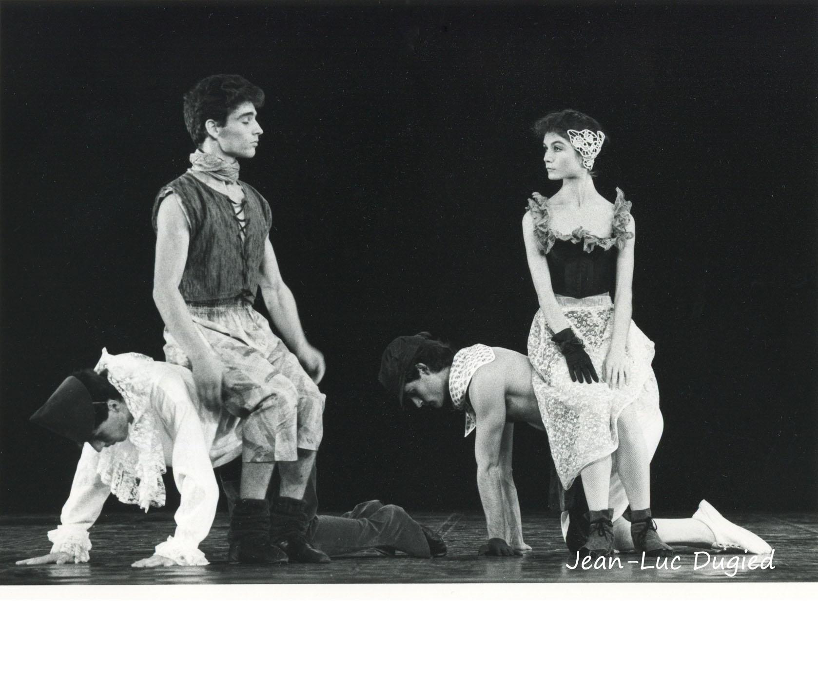 18 Jeune Ballet de France 2 - tiré à 4 épingles - chor. Dominique Boivin - 1984