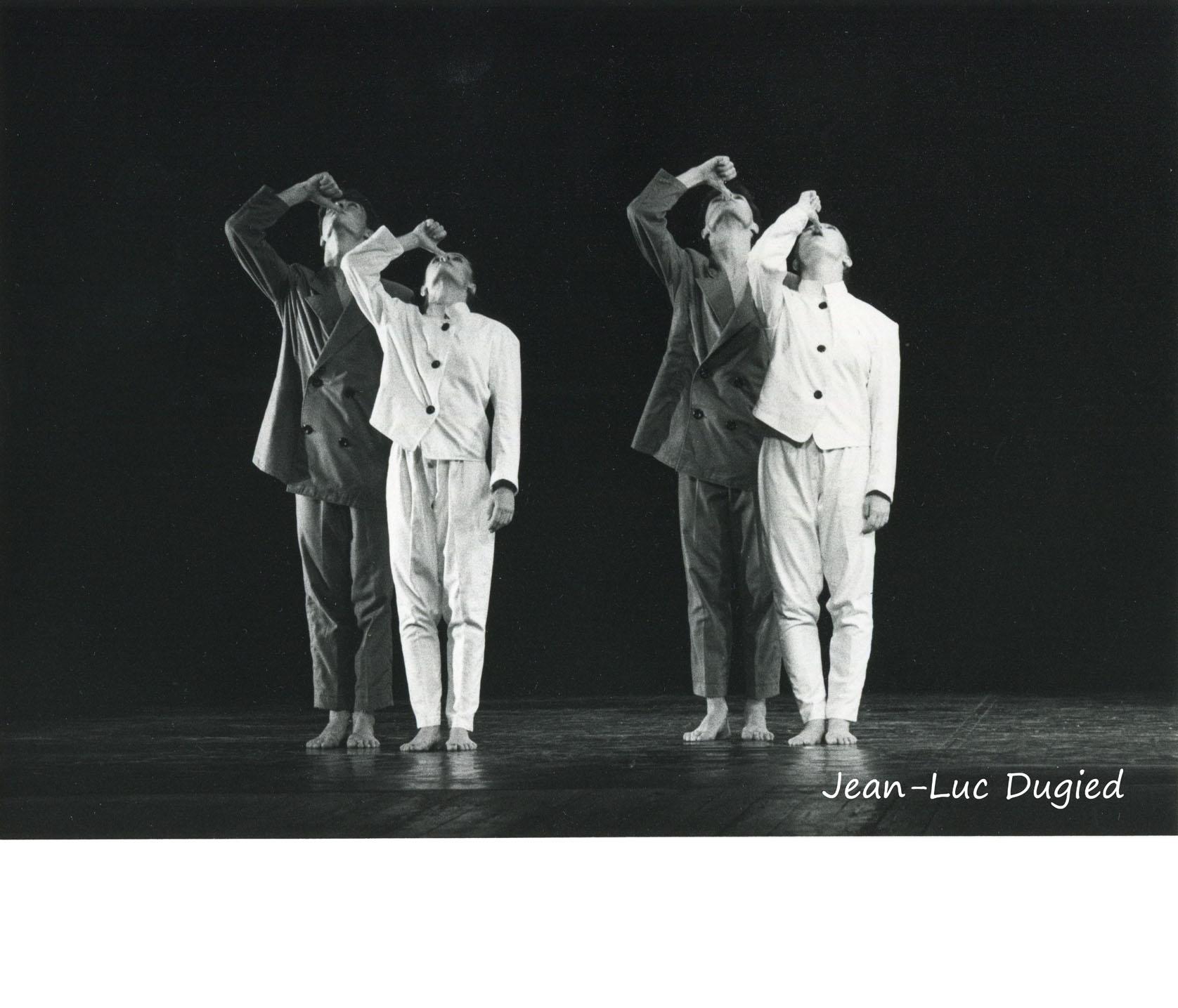 19 Jeune Ballet de France 2 - un sucre ou deux - chor. Daniel Larrieu - 1984