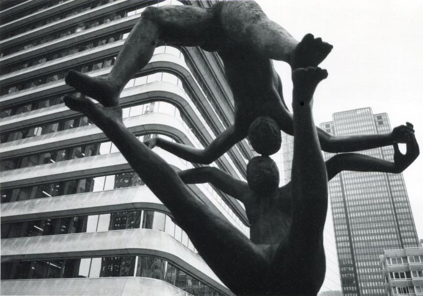 La Défense, 1977