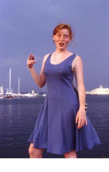 Marie, Antibes, 1995