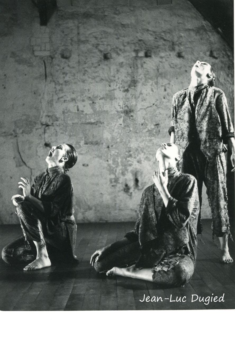 20 Roussel Stéphanie - son rire s'est brisé comme un éclat de verre - avec Yolaine Medelise et Frédérique Robert - 1986