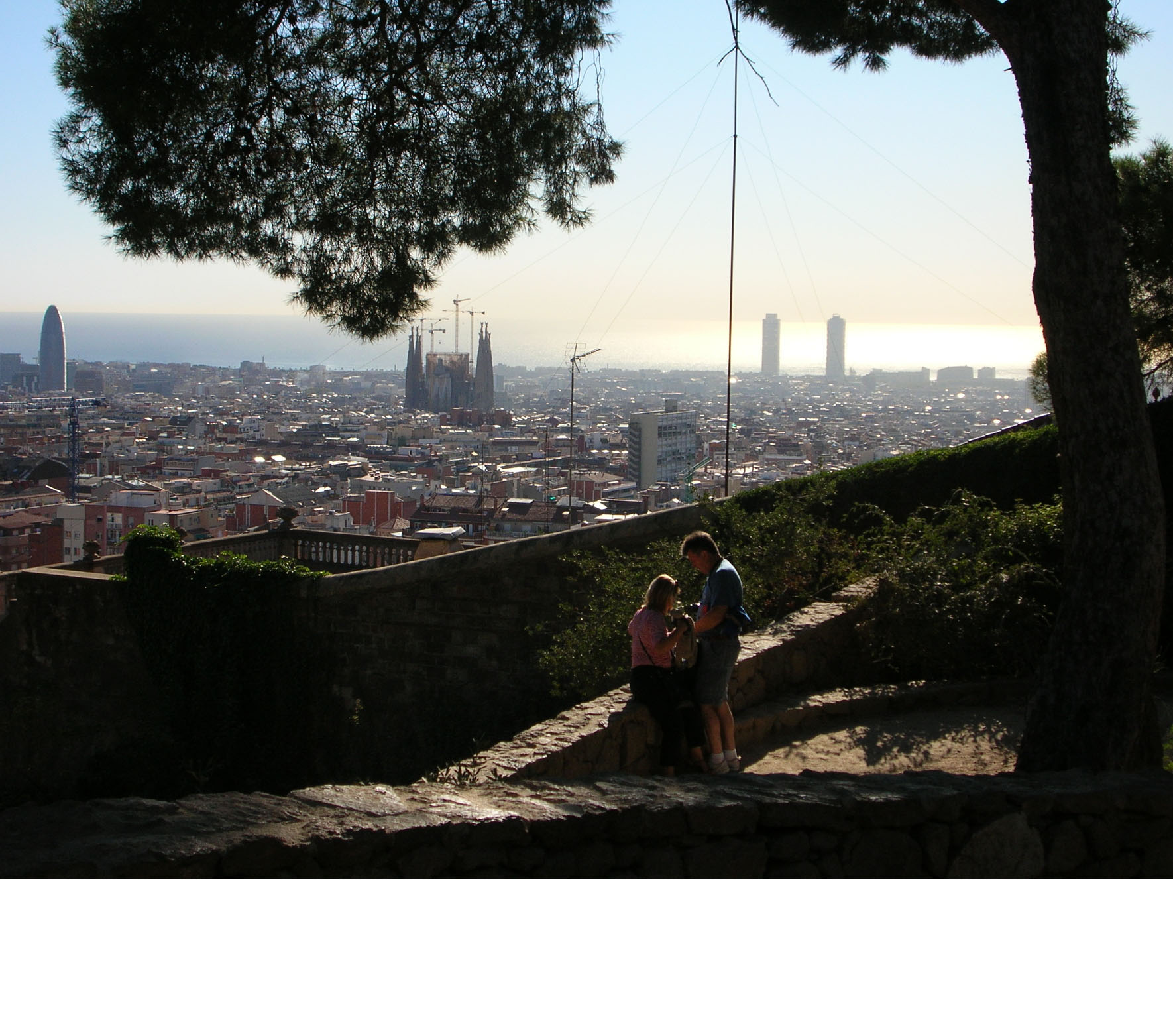 Les amoureux du Parc Güell - 2011
