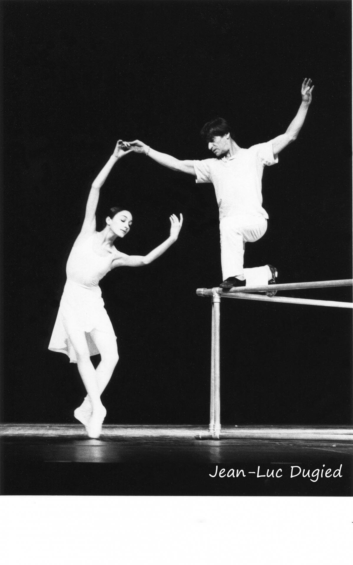 21 Béjart Maurice - life - Maria Gracia Galante et Jean Babilée - 1983