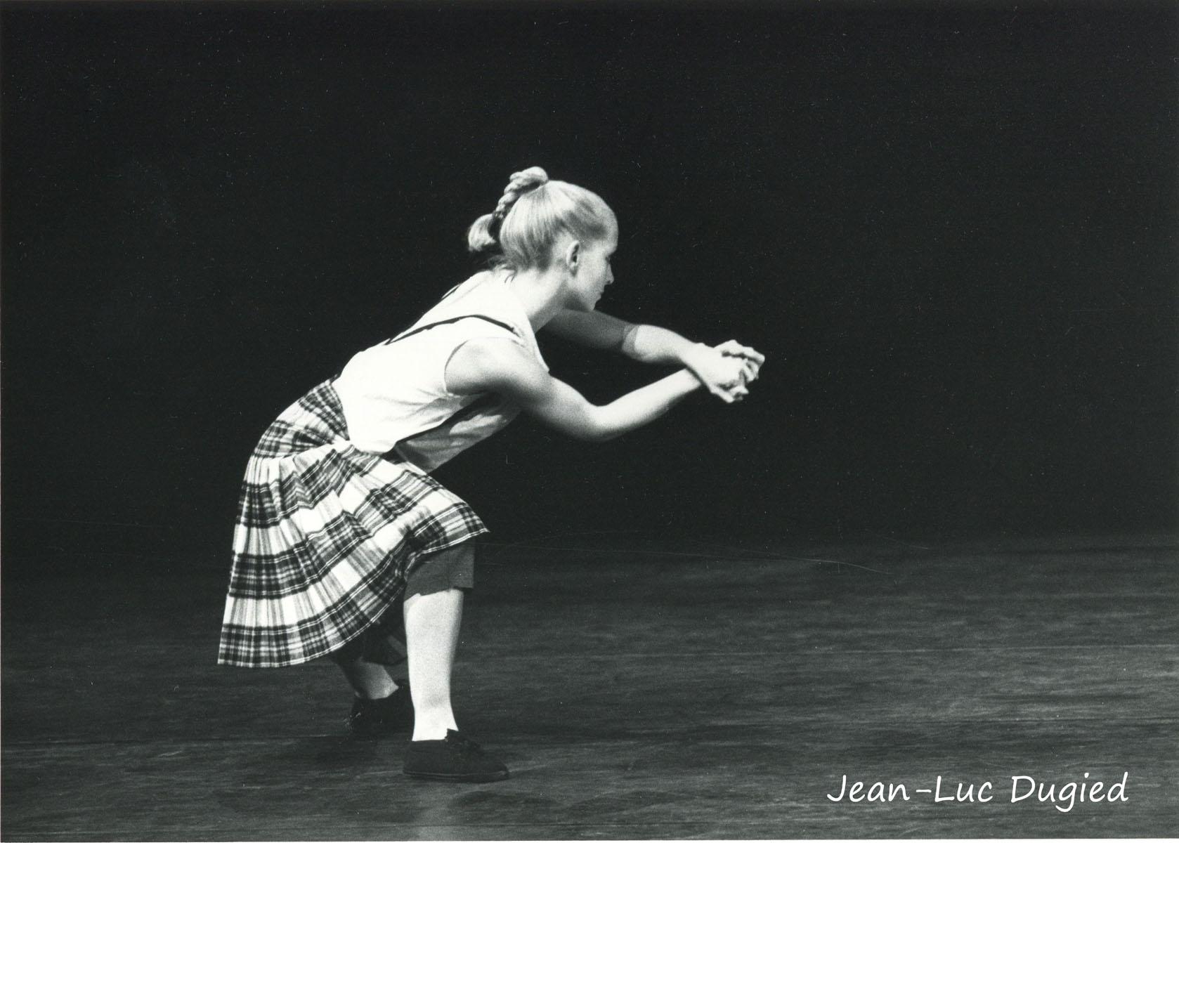 22 Jeune Ballet de France 3 - royal stewart - chor. Monnier-Duroure - Corinne Blondel - 1986
