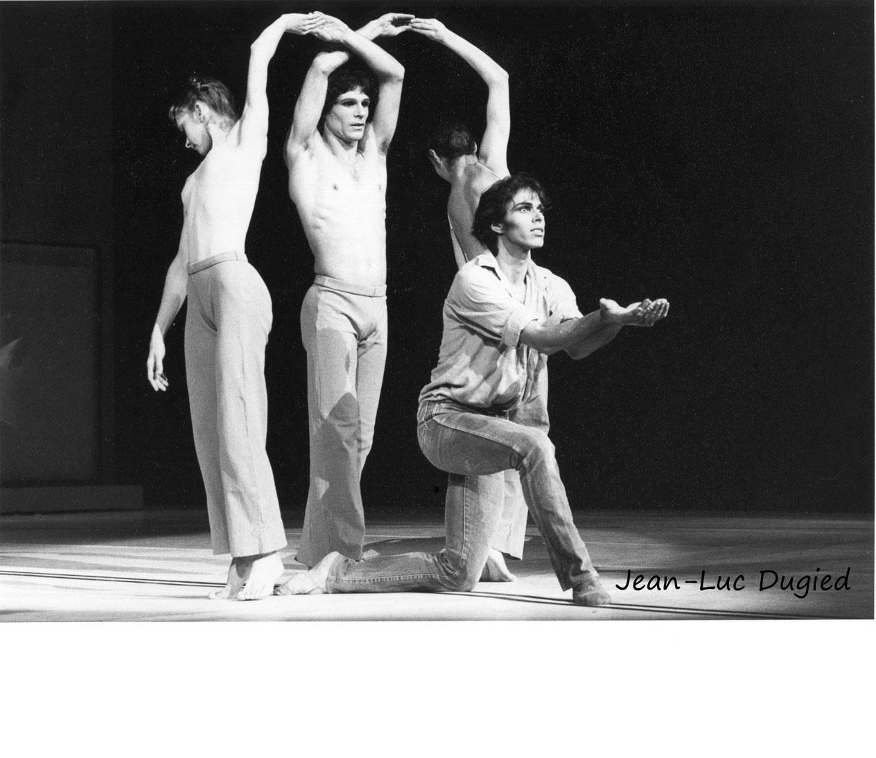 23 Béjart Maurice - messe pour le temps futur - Rita Poelvoorde, Yann Le Gac, Kyra Kharkevitch et Gil Roman - 1984