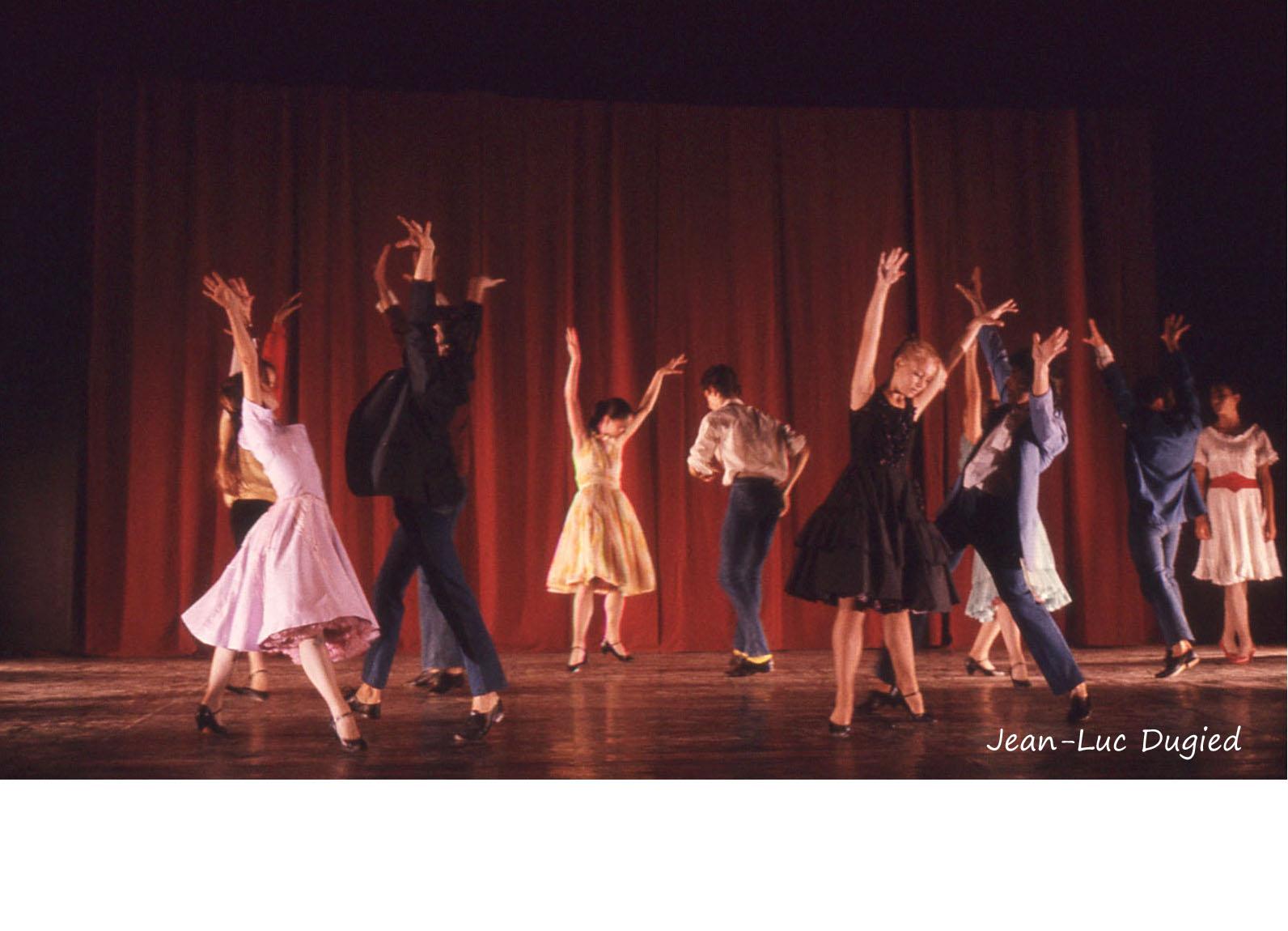 25 Jeune Ballet de France 3 - west side story - chor. Daryl Gray et Philippe Cohen - 1985