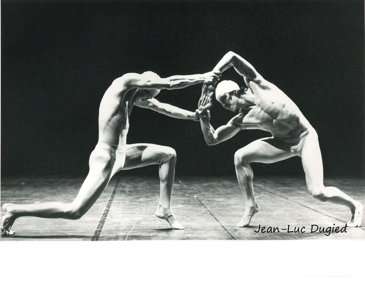 25 Momix - woomen - Jamey Hampton et Daniel Ezralow - 1984