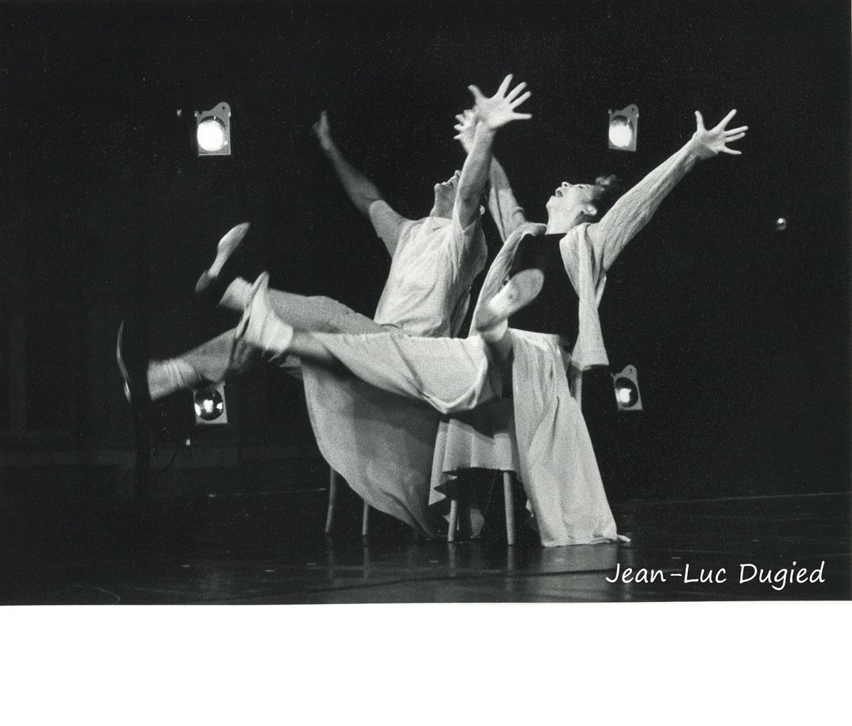 25 Pilobolus - can't get started - Carol Parker et Peter Pucci - 1987
