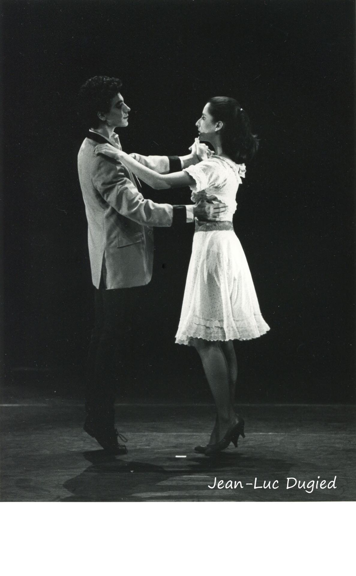 26 Jeune Ballet de France 3 - west side story - chor. Daryl Gray et Philippe Cohen - Fabrice Herrault et Caroline Soulan - 1986