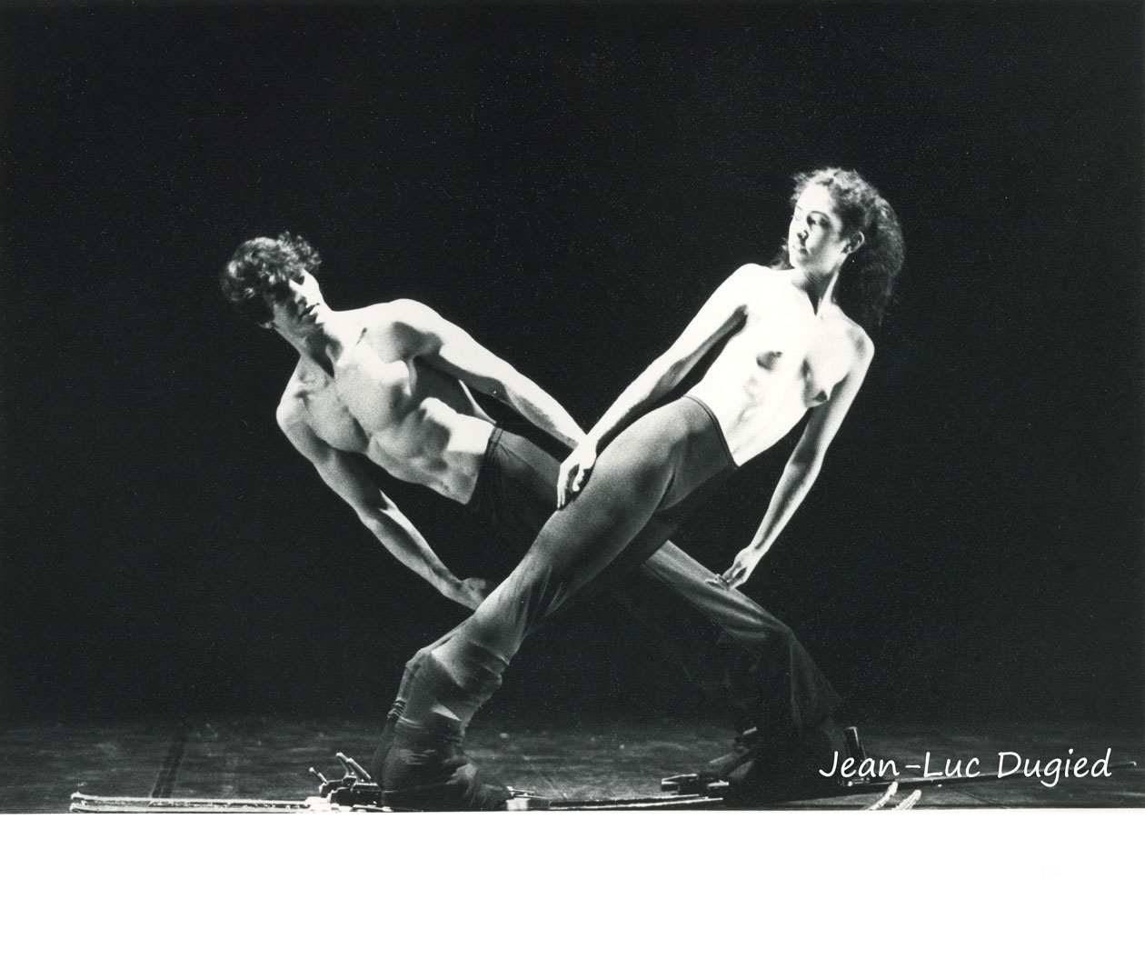 26 Momix - Skiva - Daniel Ezralow et Marleigh Steinberg - 1984