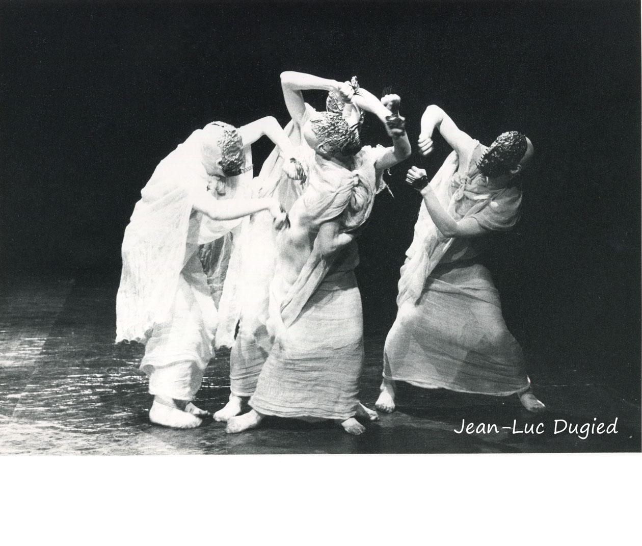 26 Sankai Juku - Netsu No Katachi (Forme de la chaleur) - chor. Ushio Amagatsu - 1984