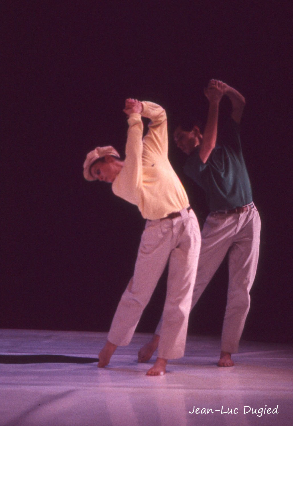 27 Dugied Fabrice - au fond du green l'équilibre - Geneviève Mazin et Bernard Collin - 1988