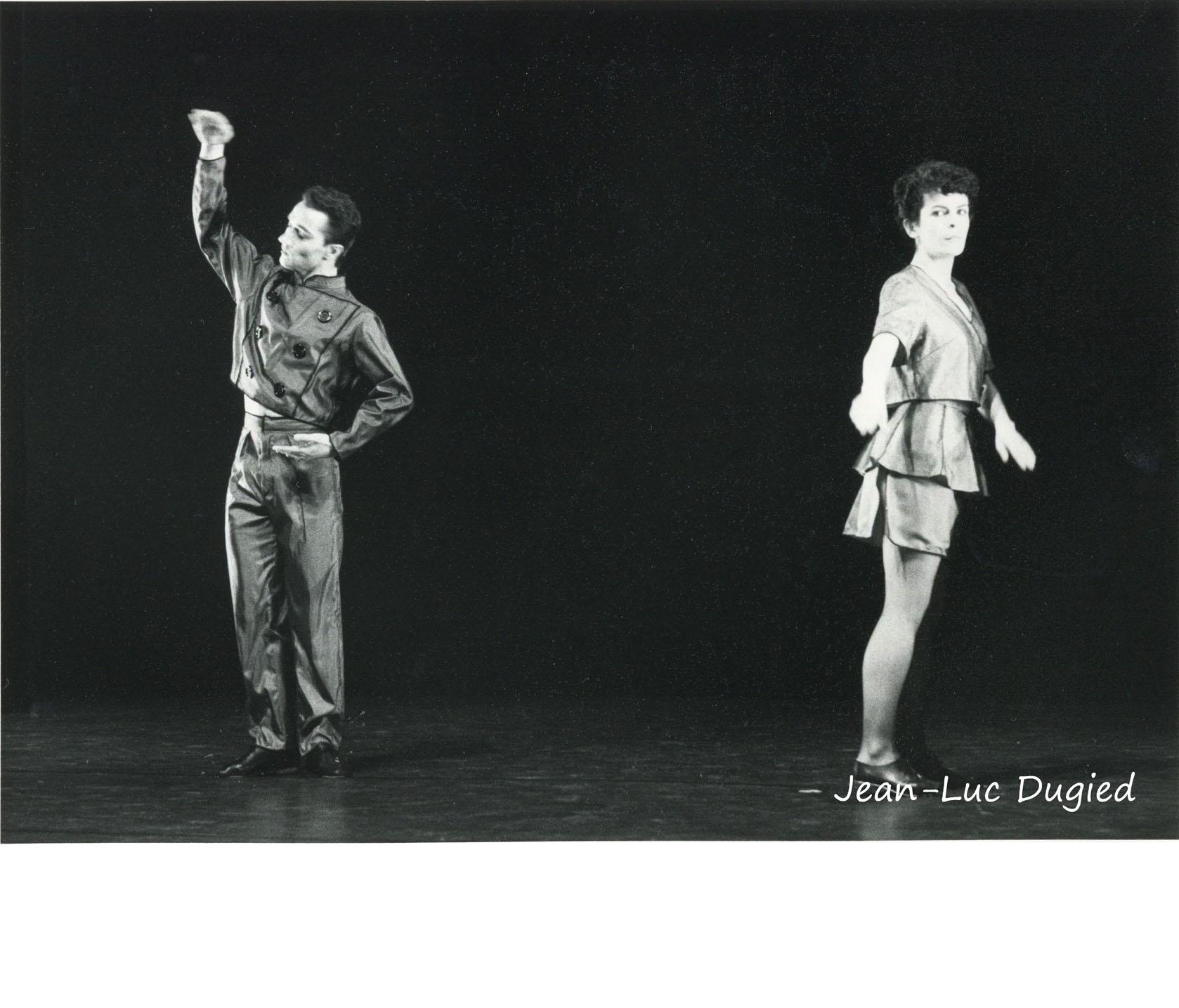 29 Preljocaj Angelin - marché noir - avec Céline Gruyer - 1985
