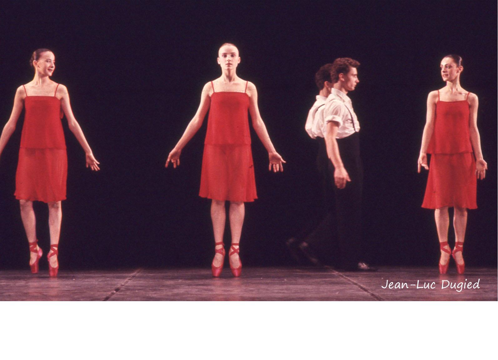 30 Jeune Ballet de France 4 - haute trahison - chor. Mark Tompkins - 1987