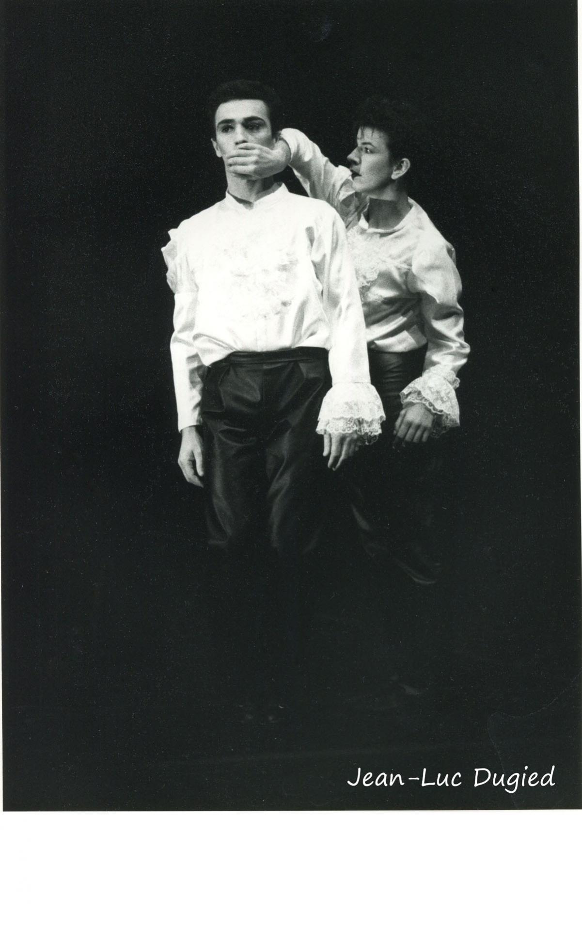 30 Preljocaj Angelin - larmes blanches - avec Catherine Beziex - 1985