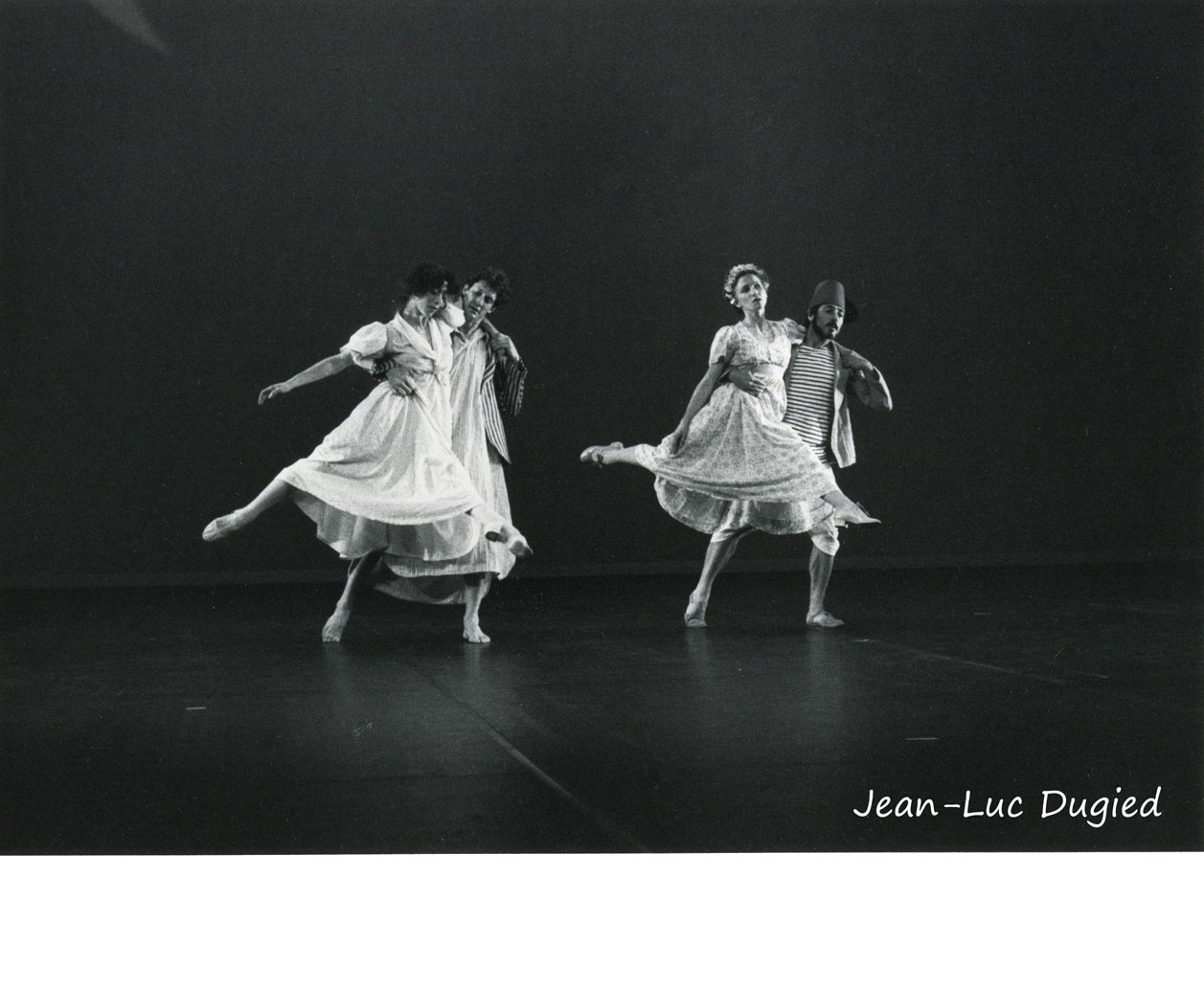 31 Crowsnest - Gibous moon - Martha Clarke, Jamey Hampton, Marie Fourcaut et Félix Blaska - 1983