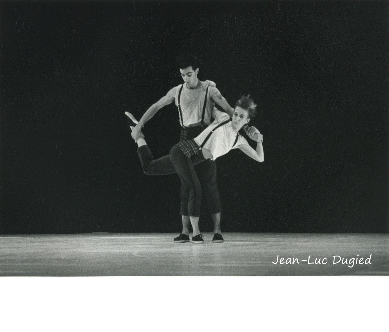 32 Monnier-Duroure - pudique acide - Mathilde Monnier et Jean-François Duroure - 1985