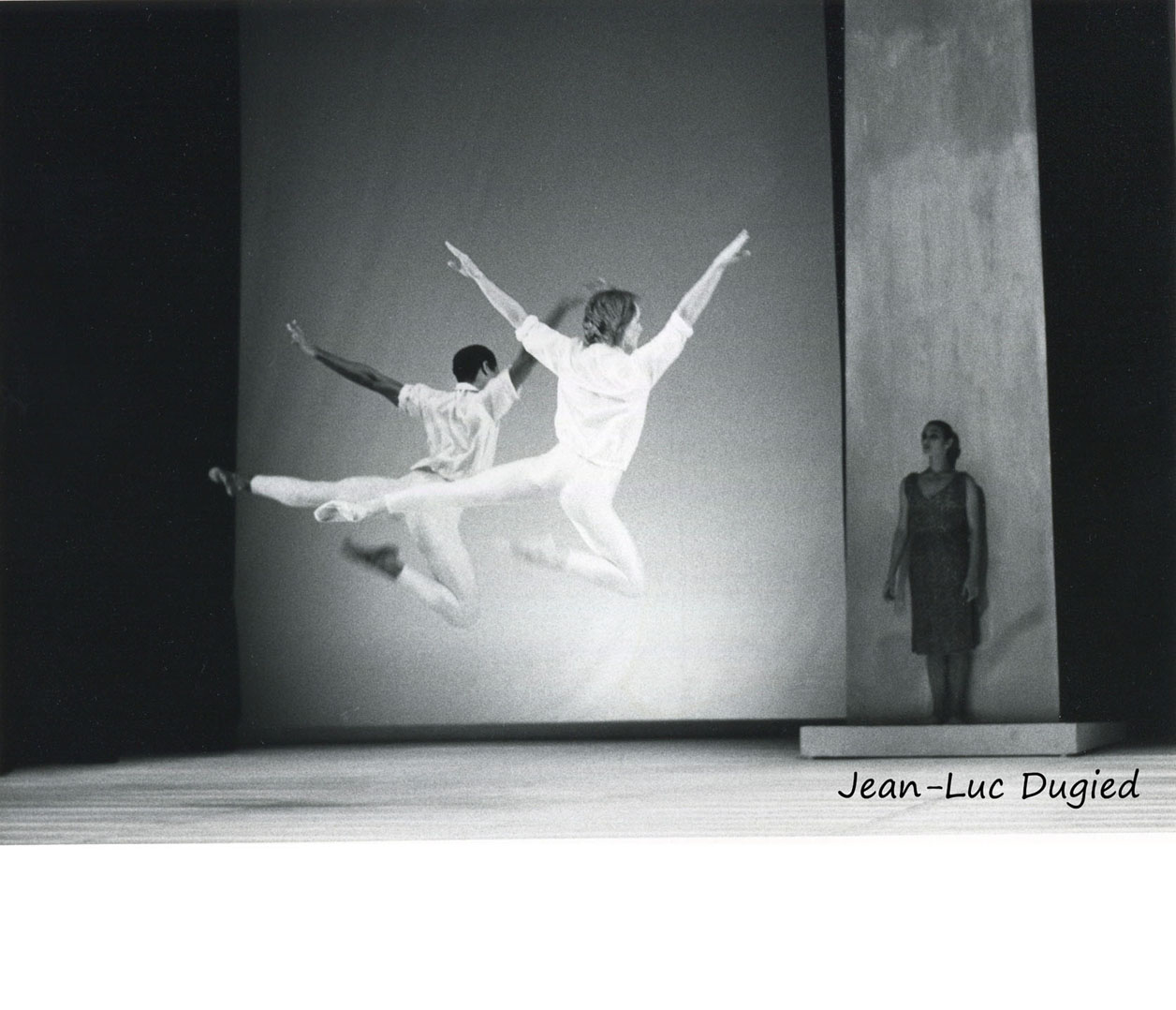 34 Maillot Jean-Christophe - les illuminations - avec Ronald Darden - 1986