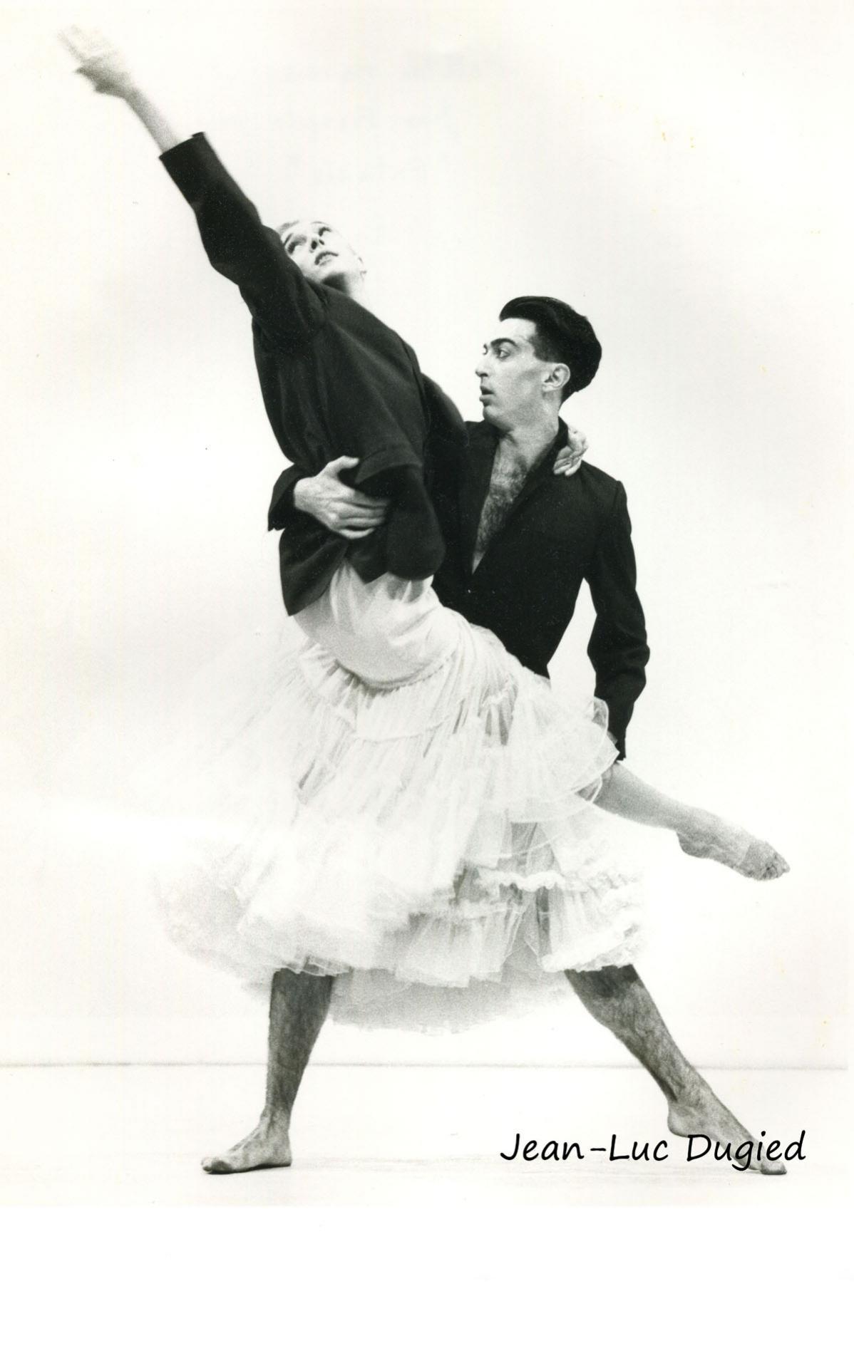 34 Monnier-Duroure - extasis - Mathilde Monnier et Jean-François Duroure - 1985