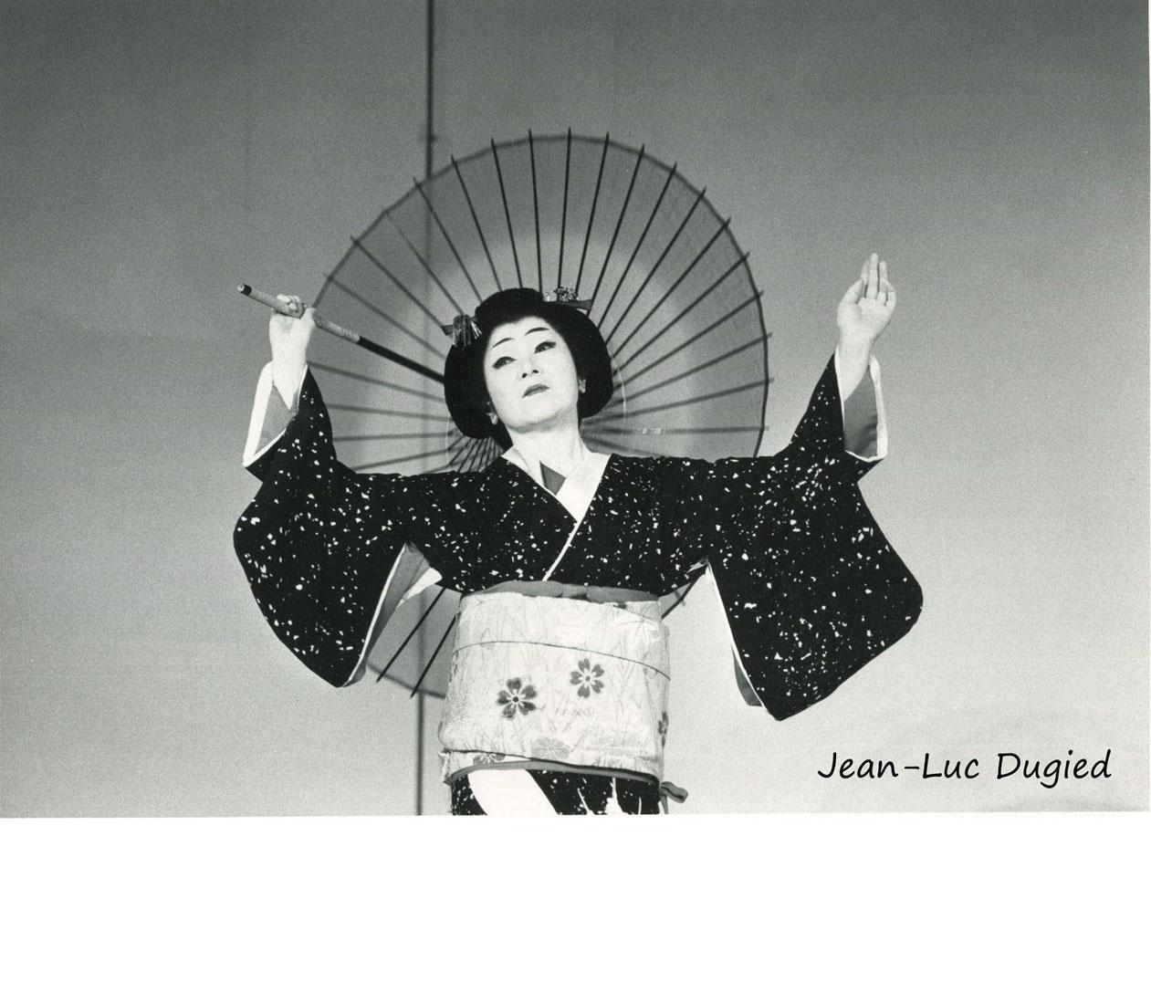 35 Kanzaki Hidejo - yuki (neige) - jiuta mai - 1986