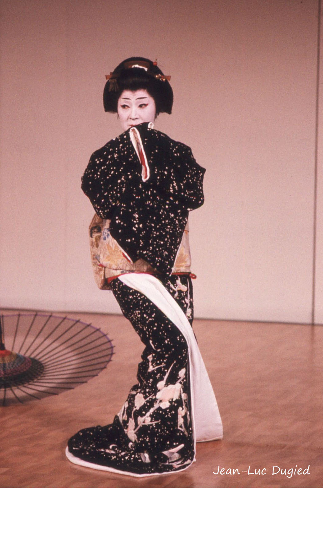 36 Kanzaki Hidejo - yuki (neige) - jiuta mai - 1986