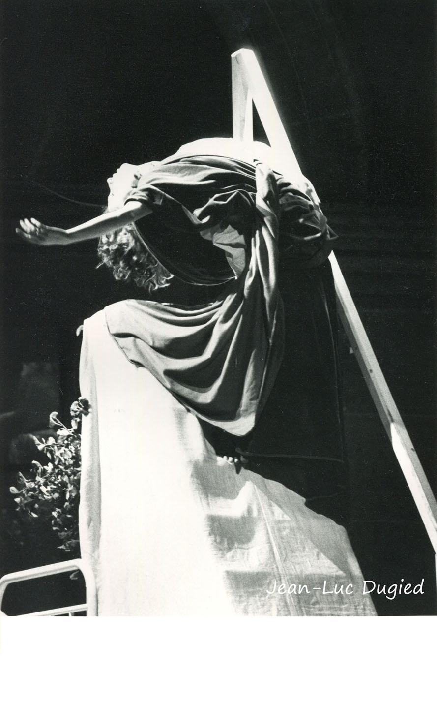 36 Ramseyer Jean-Claude - évènement hystérique - Isabelle Calleau - 1984