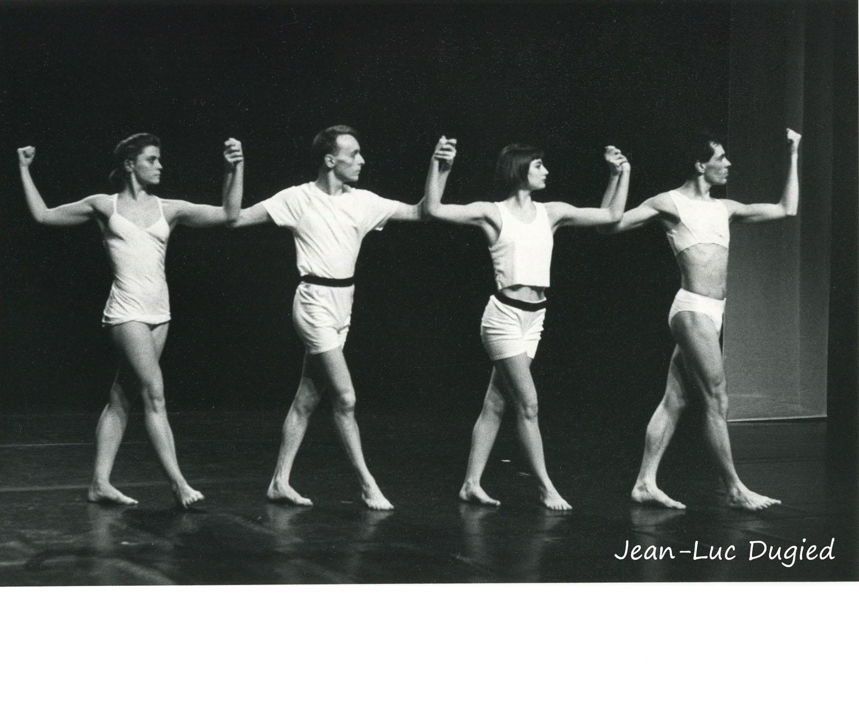41 Dugied Fabrice - bohème - avec Geneviève Mazin,  Marie Martin et Bernard Collin - 1988
