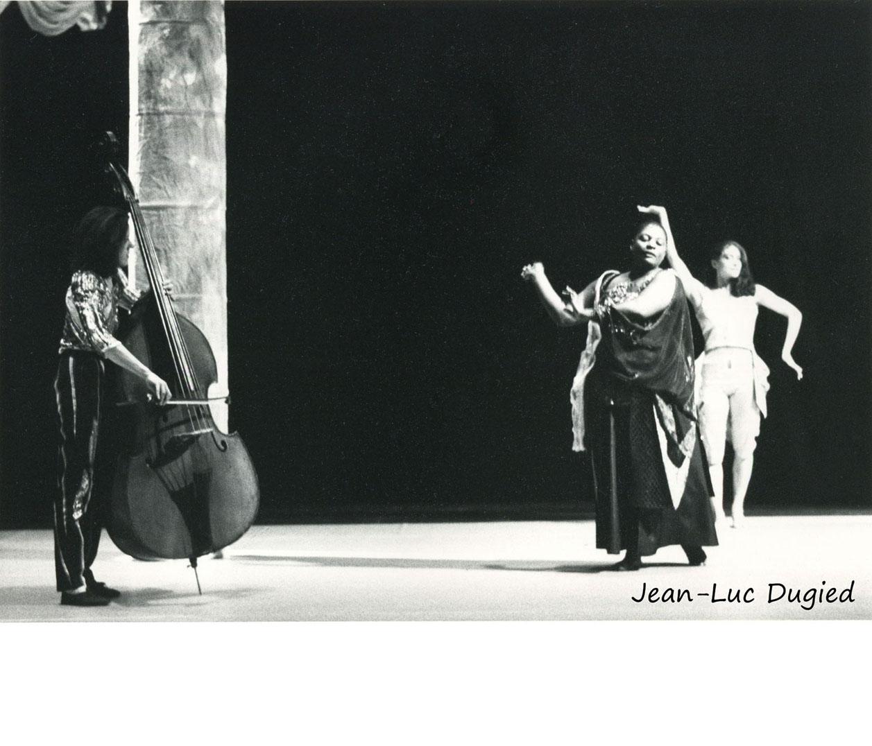 45 Yano Hideyuki - Salomé - Joëlle Léandre, Elsa Wolliaston et Christine Burgos - 1986