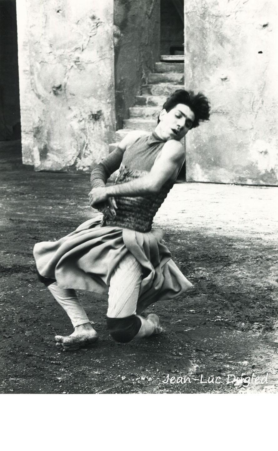 5 Bouvier-Obadia - derrière le mur - Régis Obadia - 1986