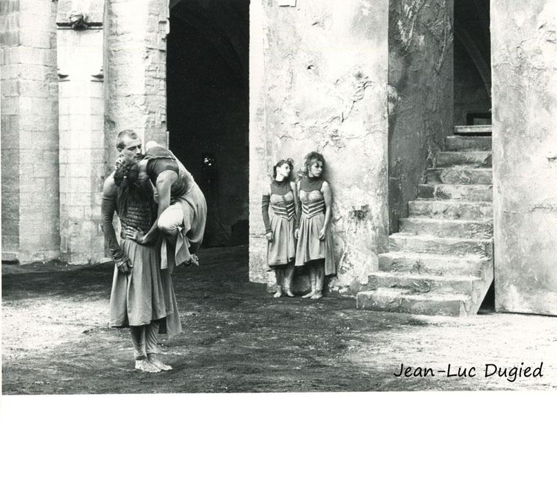 6 Bouvier-Obadia - derrière le mur - 1986