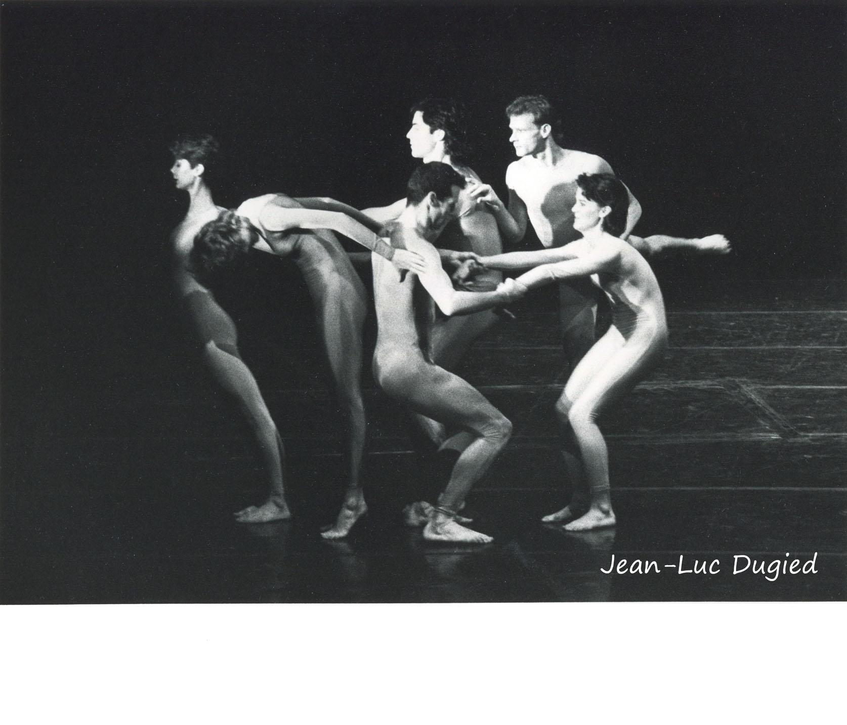 6 Cunningham Merce - event d'inauguration de la biennale de Lyon - 1984