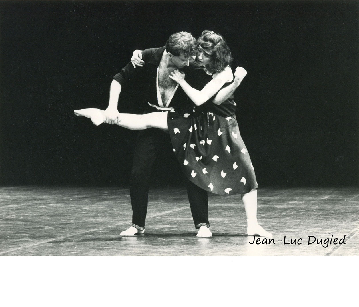9 Gallotta Jean-Claude - Daphnis et Chloé avec Mathilde Altaraz - 1984